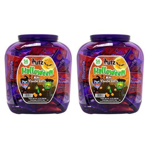 Utz Halloween Mini Cheese Balls (15 oz., 2 ct.)