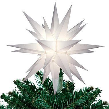 Lighted LED Tree Topper Star - 12