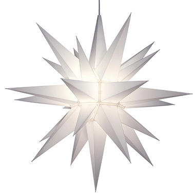 Lighted LED Holiday Star - 21