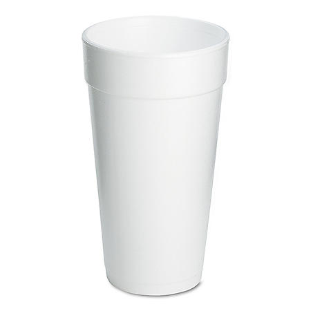 Dart Hot and Cold Foam Cups, 20 oz. (500 ct.)