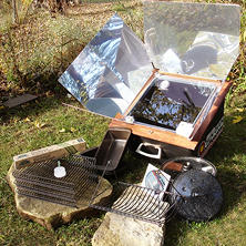 All American Sun Oven with Dehydrating, Roasting, and Preparedness Package