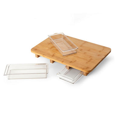 Mocubo Cutting Board With Storage Prep
