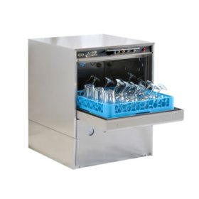 CMA Undercounter Front Door Commercial Glasswasher with Noise Suppression Technology