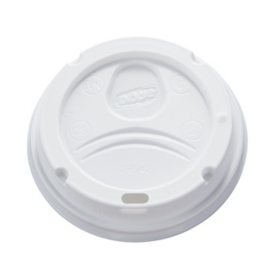 Dixie PerfecTouch Domed Hot Cup Plastic Lids, Fits 10-16 oz. (500 ct.)