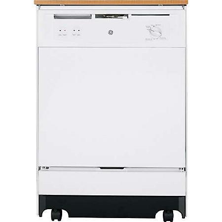 GE® Convertible Dishwasher - White