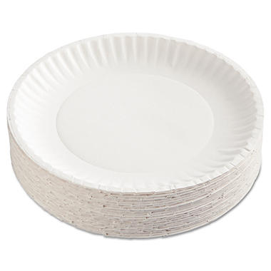 Green Label Recyclable Paper Plates, 9