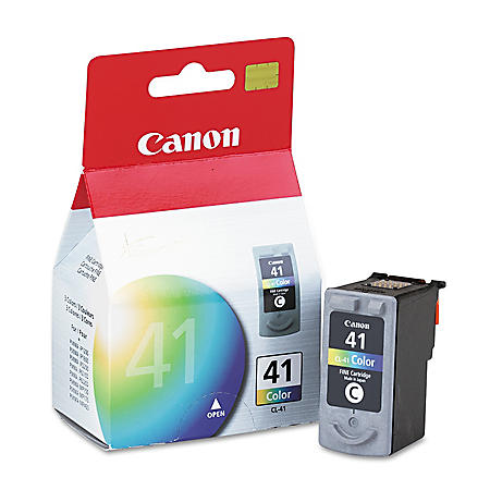 Canon CL-41 Ink Tank Cartridge, Tri-Color