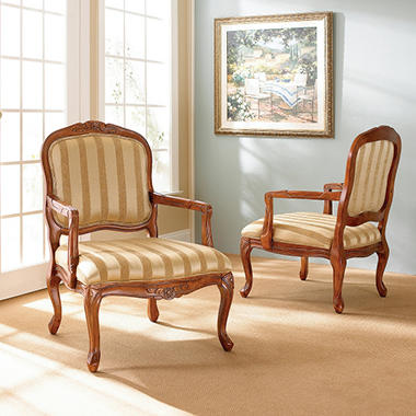 Louis Accent Chairs   2 Pk.