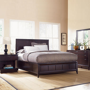 Jenna Bedroom Set by Prestige Designs - King - 4 pc.