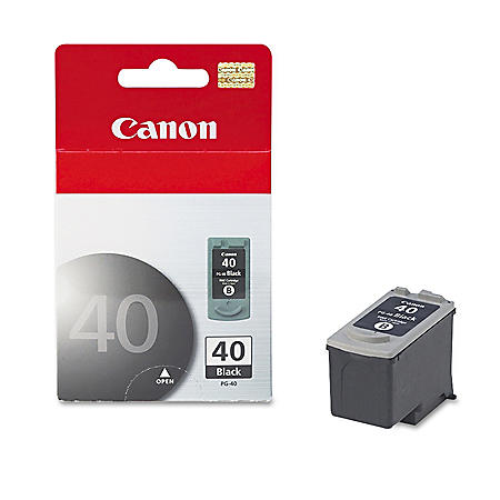 Canon PG-40 Ink Tank Cartridge, Black (195 Page Yield)