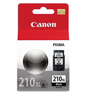 Canon PG-210XL High-Yield Ink Cartridge, Black (401 Page Yield)
