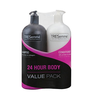 TRESemmé Shampoo & Conditioner Value Pack - 24 Hour Body - 44 oz. each