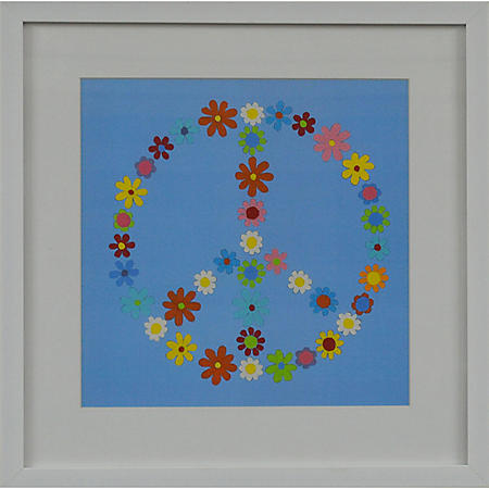 PEACE PTM WALL ART