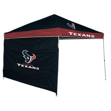 NFL Houston Texans 9u0027 x 9u0027 Canopy with Wall  sc 1 st  Samu0027s Club & NFL Houston Texans 9u0027 x 9u0027 Canopy with Wall - Samu0027s Club