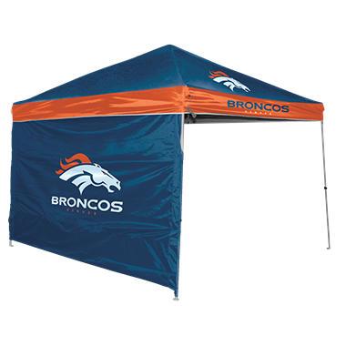 NFL Denver Broncos 9u0027 x 9u0027 Canopy with Wall  sc 1 st  Samu0027s Club & NFL Denver Broncos 9u0027 x 9u0027 Canopy with Wall - Samu0027s Club