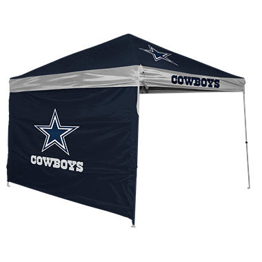 NFL Dallas Cowboys 9 X Canopy With Wall
