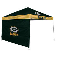NFL Green Bay Packers 9' x 9' Canopy with Wall