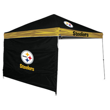 NFL Pittsburgh Steelers 9' x 9' Canopy with Wall