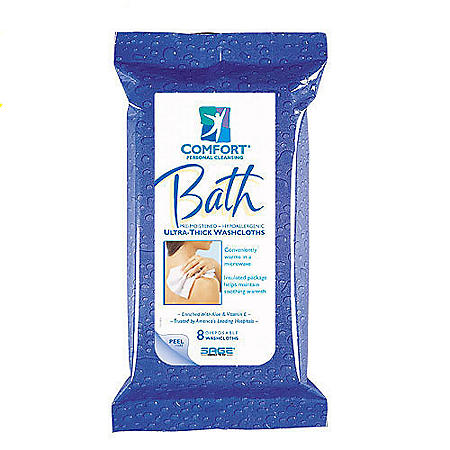 Comfort Bath Cleansing Washcloths (352 ct.)