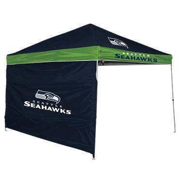 NFL Seattle Seahawks 9' x 9' Canopy with Wall