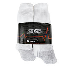 Power Cushioned Performance 6-Pack Crew Sock