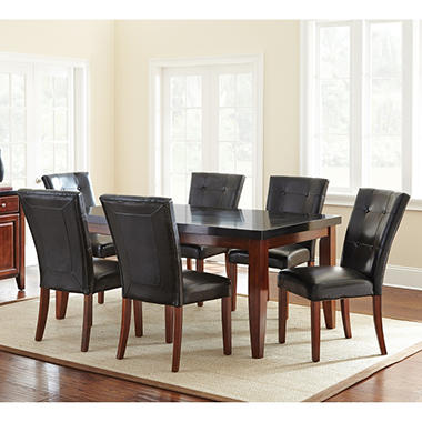 Scott Table And 6 Chairs Dining Set Sam S Club