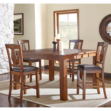 fowler counter height dining set 5 pc