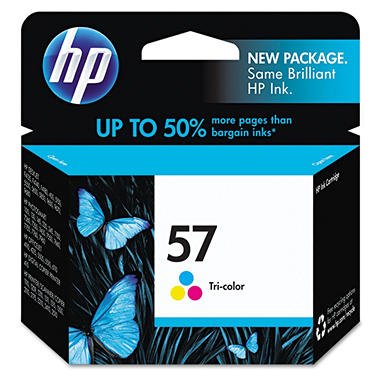 HP HP 57, (C6657AN) Tri-Color Original Ink Cartridge
