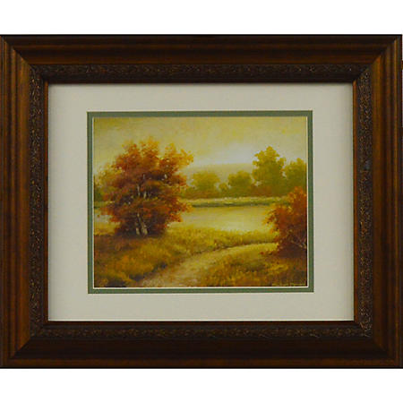 SERENE SUNNY VIEW I PTM WALL ART
