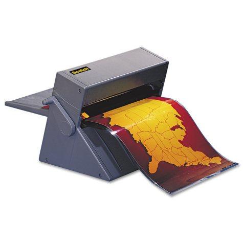 "Scotch - Heat-Free Laminating Machine with 1 Cartridge -  12"" Maximum Document Size"