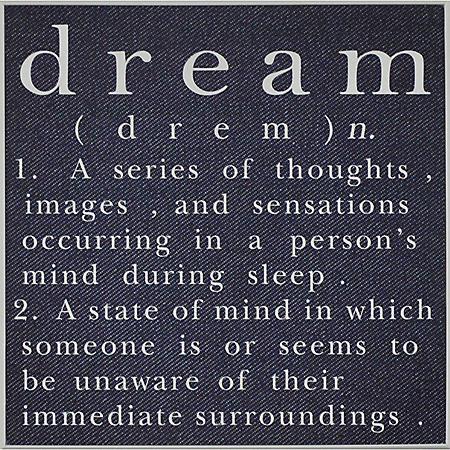 DREAM PTM WALL ART
