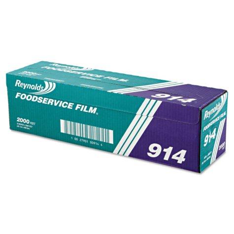 "Reynolds Foodservice Plastic, Film Roll, 18"" x 2000' (1 pk.)"