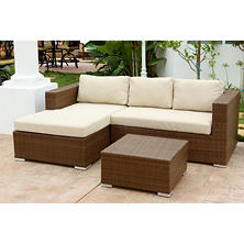 Corona Sectional Wicker Patio Set