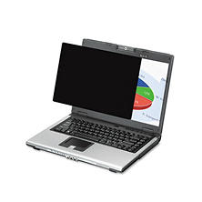 "Fellowes - PrivaScreen Blackout Privacy Filter for 19"" LCD/Notebook"