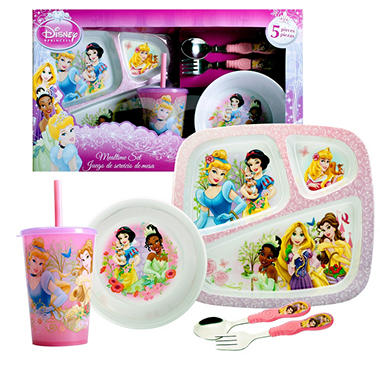 Disney Princess Dinnerware Set - 5 pc.