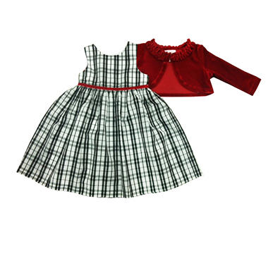 DRESS PLAID 3T IN-CLUB ITEM#941144