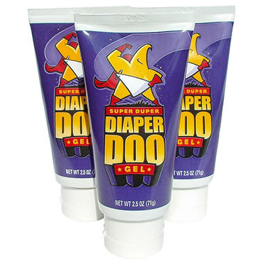 Super Duper Diaper Doo™ - 2.5 oz. Tube, 3 pk.