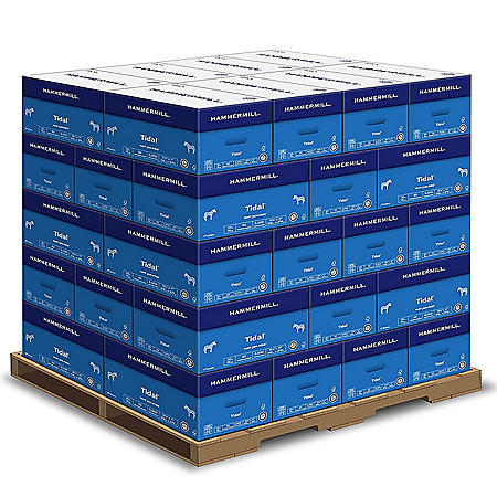 "Hammermill - Tidal MP Copy Paper, 20lb, 92 Bright, 8-1/2 x 11"" - 40 Case Pallet"
