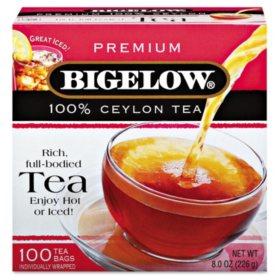 Bigelow Single Flavor Tea - 100 count