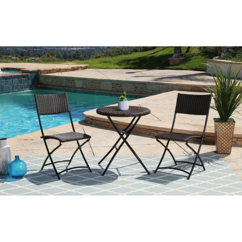 Mia 3-Piece Outdoor Bistro Set