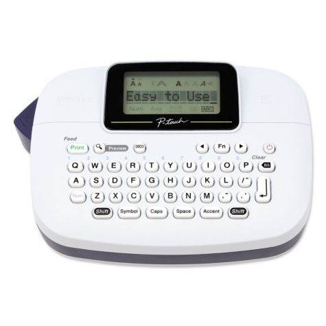 Brother P-Touch PT-M95 Handy Label Maker, 2 Lines