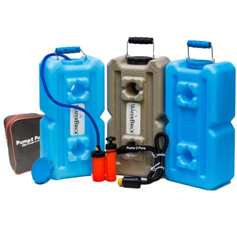 WaterBrick Seychelle Pump 2 Pure Water Filtration System