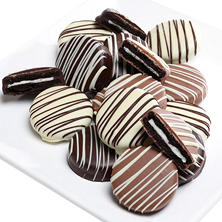 Holiday Belgian Chocolate-Covered Oreo Cookies (12 pc.)