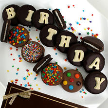 Birthday Belgian Chocolate-Covered Oreo Cookies (14 pc.)