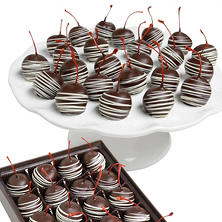 Belgian Chocolate-Covered Maraschino Cherries (24 pc.)