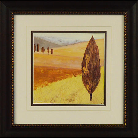GOLDEN LANDSCAPE PTM WALL ART