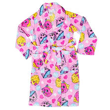 Shopkins Packaged 2-Piece Pajama Set & Luxe Plush Robe