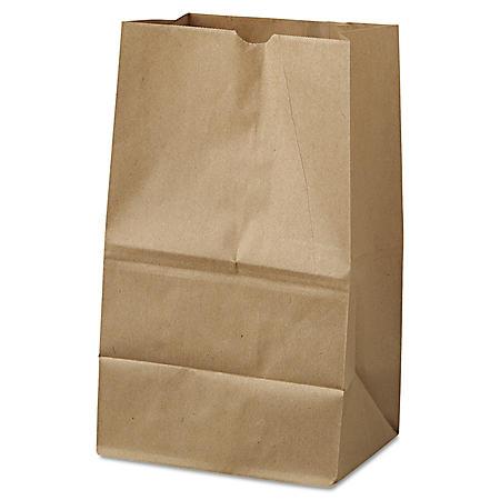 #20 Squat Natural Paper Bags (500 ct.)