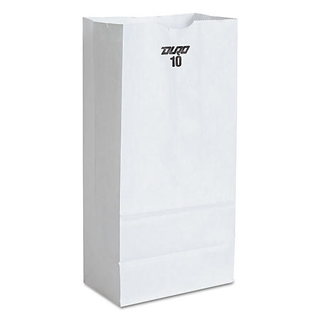 #10 White Paper Bags (500 ct.)