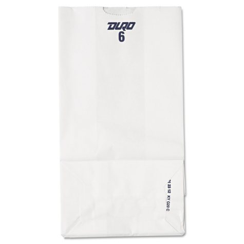 #6 White Paper Bags (500 ct.)